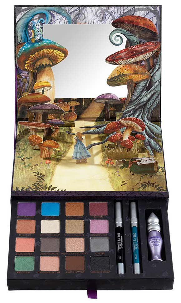 Urban Decay - Book of Shadows eyeshadows palette for Alice in Wonderland