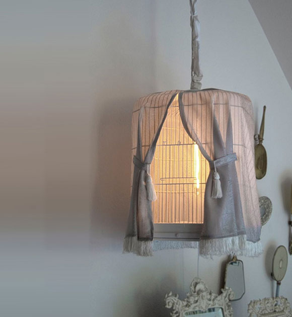 PSPCA - Bird Cage Lamp