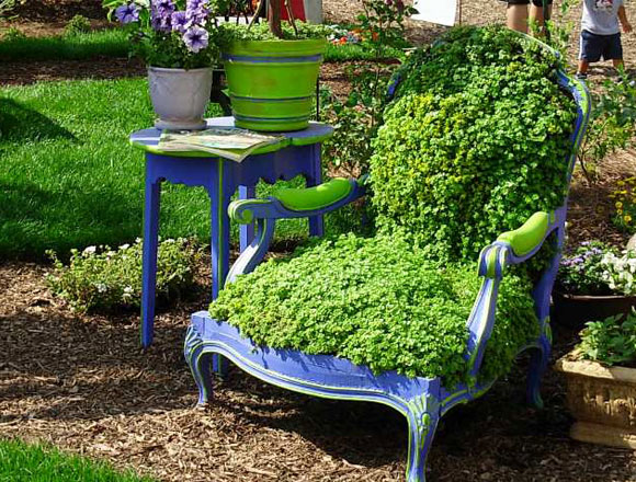 Green Eco Furniture - Photo by Debra Prinzing