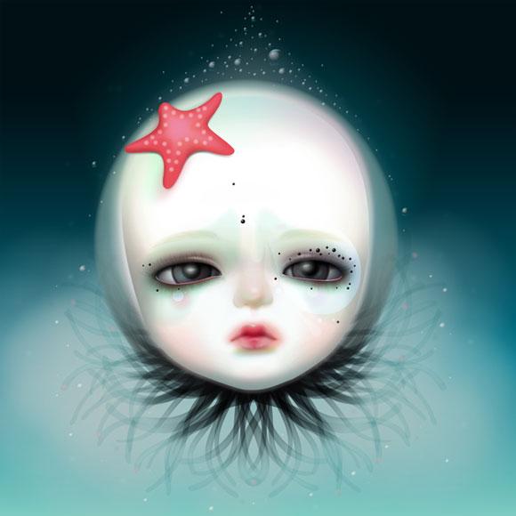 Mijn Schatje - Baby Mermaid Starfish