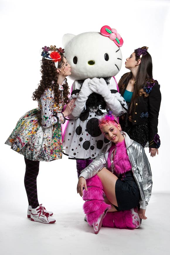 Tania Tuccinardi, Marina Maniglio, Selene Scarpolini - Hello Kitty the Show