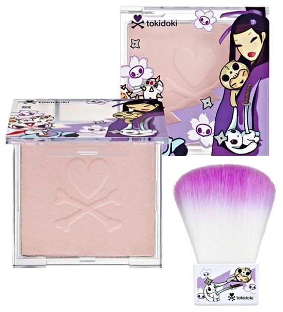 Tokidoki kawaii Beauty - Luminosa Powder and Kabuki Brush