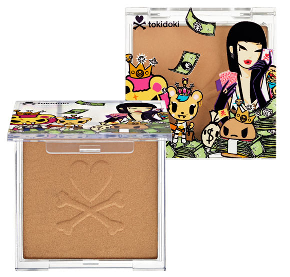 Tokidoki kawaii Beauty - Inferno Bronzer, terra