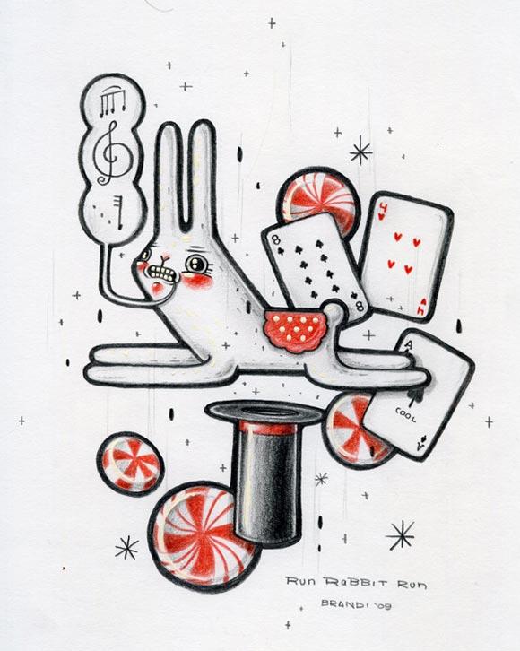 © Brandi Milne - Luck of the Draw, 2009