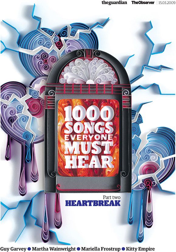 Yulia Brodskaya - The Guardian, 1000 Songs everyone must hear, Part II Heartbreak Song