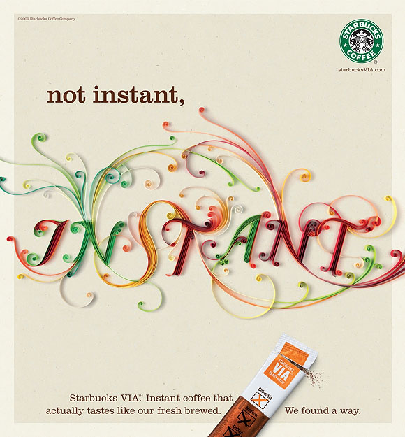 Yulia Brodskaya - Starbucks VIA, Instant Coffee
