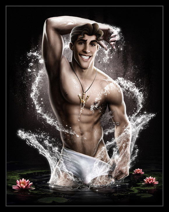 David Kawena - Prince Naveen (La Principessa e il Ranocchio / The Princess and the Frog), Disney Heroes Photoshot, 2009