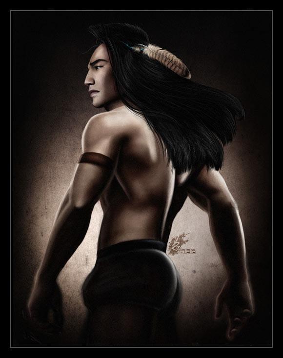 David Kawena - Kocoum (Pocahontas), Disney Heroes Photoshot, 2007