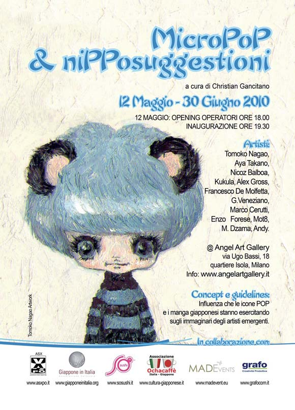 Poster Micropop & Nipponsuggestioni - Angel Art Gallery