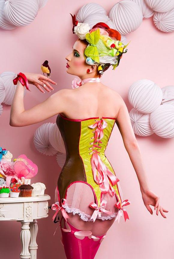 © Maya Hansen - Cake-Corsets, Photo Marcelo Aquilio