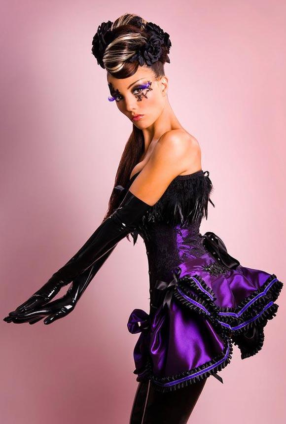 © Maya Hansen - Lace & Purple Corset
