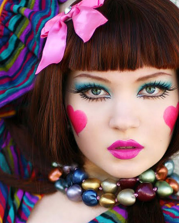 Doe Deere is wearing Lime Crime makeup, Photography: Grenouille