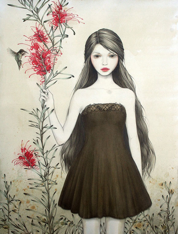 Melissa Haslam - Grevillia Gothic, 2009