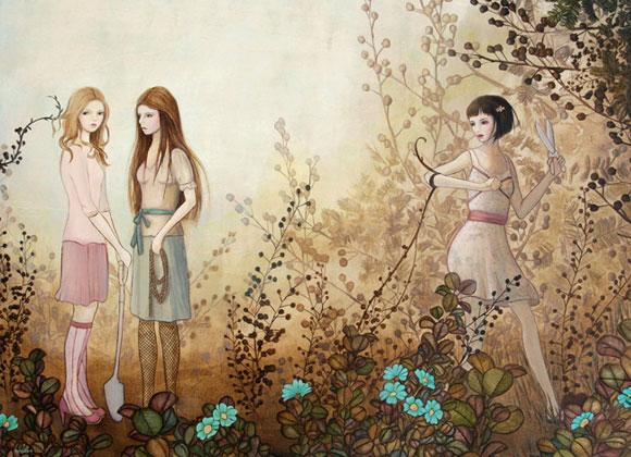 Melissa Haslam - Garden of perils, 2008