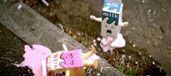 Blur - Coffee & Tv packaging milk - latte