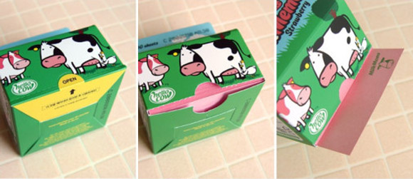 Chachap - Hello Cow, MilkMemo milk - latte packaging