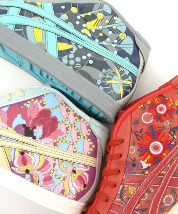 Asics Onitsuka Tiger - Zodiac Collection shoes, Rat, Tiger, Ox, topo, tigre e bue