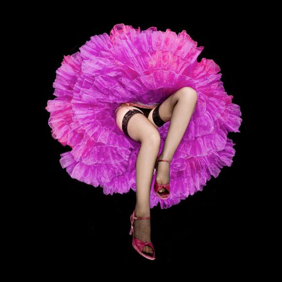 Daryl Banks - Magenta Crinoline Flower, gonne a forma di fiore