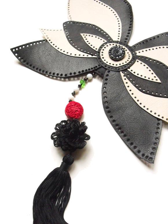 Giulia Boccafogli - Leaves, Verso Oriente necklace butterfly, collana a farfalla