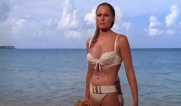 bond girl Ursula Andress - Honey Rider, Agente 007 Licenza di Uccidere - Dr. No