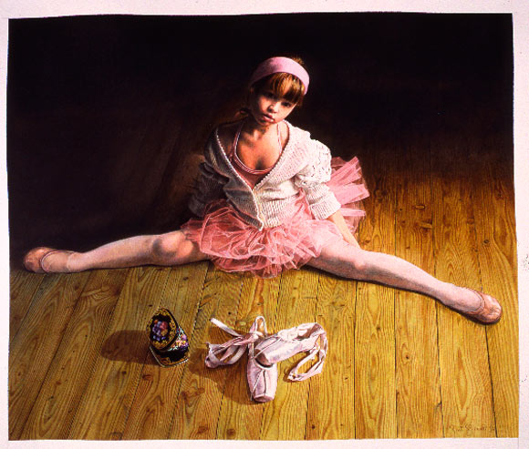 Titti Garelli - Once Upon a Time, Ballerina, classic dancer