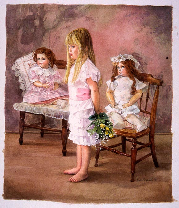 Titti Garelli - Once Upon a Time, In Visita dalle Bambole, the girl and your dolls