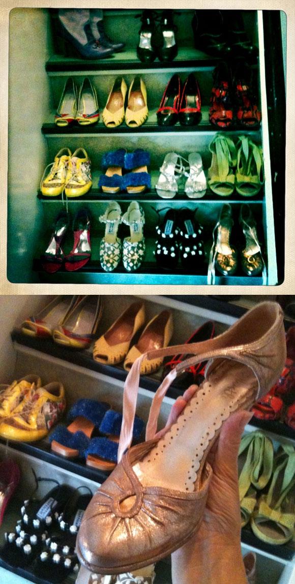 Kirsten's shoes
