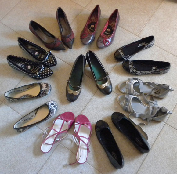 Kiwi.Elisa's shoes