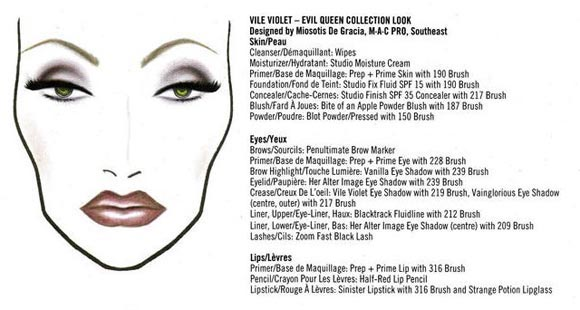 MAC Disney - Venomous Villains Look – Grimilde, Evil Queen