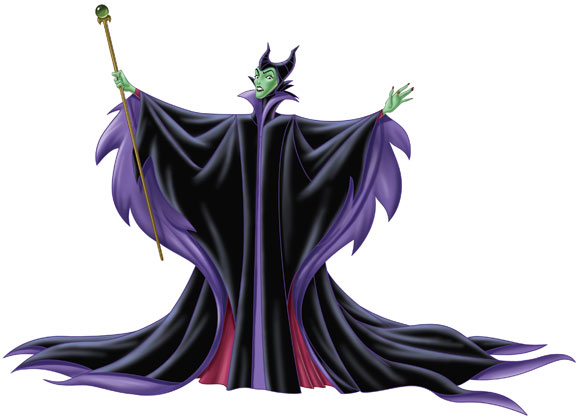 Disney villains – Malefica, Maleficent