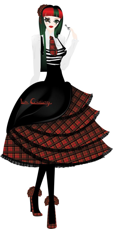 Laura Castellanza, Punk Lolita