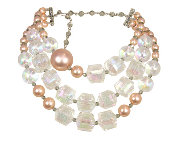 Tarina Tarantino - Bubble Pop Three-Row Multibead Necklace collana