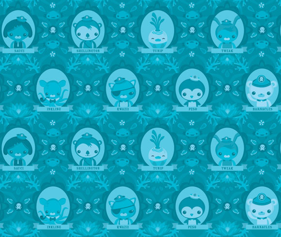 Meomi - The penguin Octonauts kawaii character