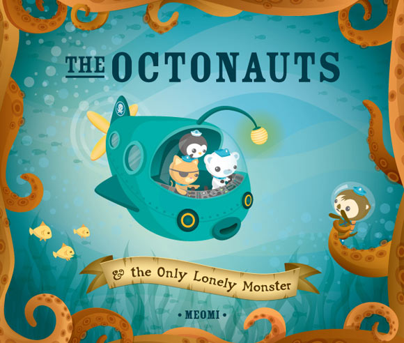 Meomi - The Octonauts & the Only Lonely Monster cover