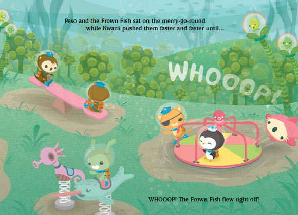 Meomi - The cute Octonauts & the Frown Fish