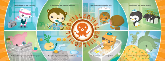 Meomi - The Octonauts are cute and kawaii animals