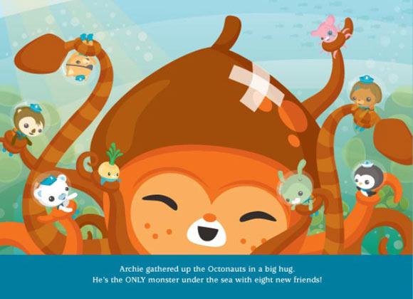 Meomi - The Octonauts & the kawaii and cute octopus