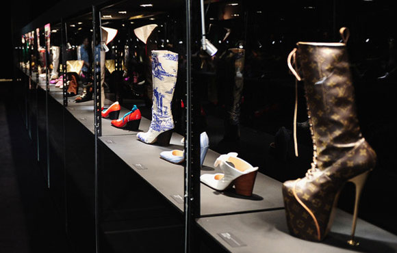 Vivienne Westwood Shoes: An Exhibition 1973- 2010, Selfridges Ultra Lounge