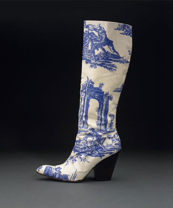 Vivienne Westwood, Toile Print Boot