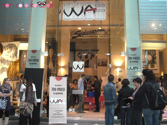 Wa Infinity, 700 passi in Giappone, Temporary Store