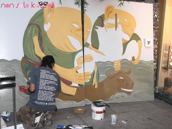 Live Painting - MOt8 (Motohiro Kato)