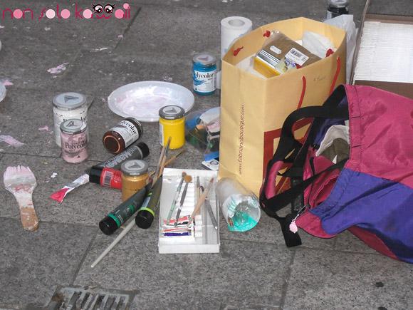 Live Painting - Tomoko Nagao