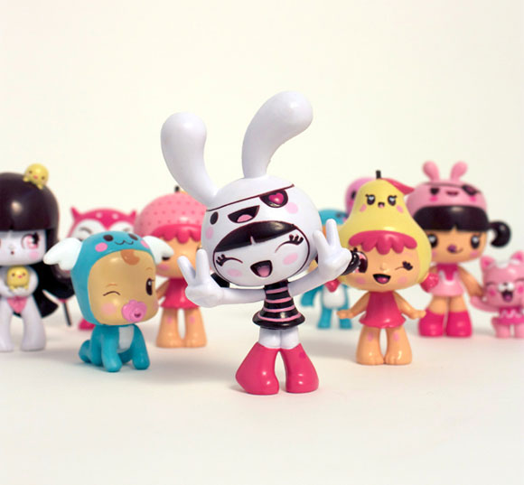 Charuca, happy kawaii character, personaggi felici e kawaii, Toys