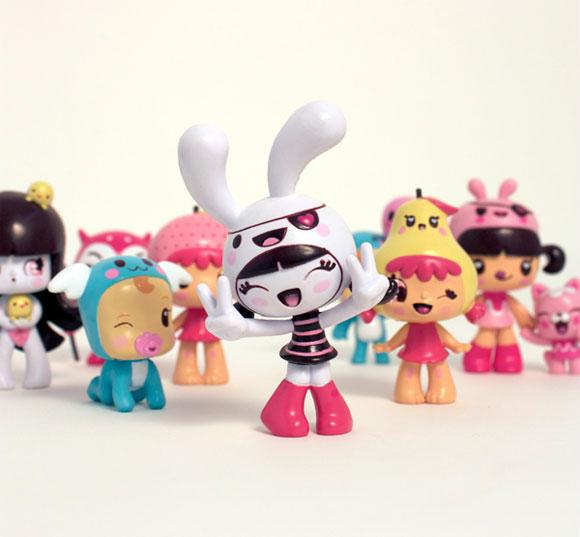 Charuca, happy kawaii character, personaggi felici e kawaii, Toys