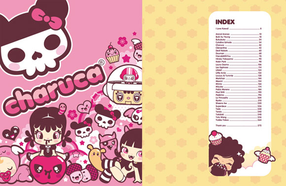 Charuca, happy kawaii character, personaggi felici e kawaii, I Love Kawaii