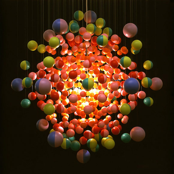 Stuart Haygarth - Cosmic Burst, 2006