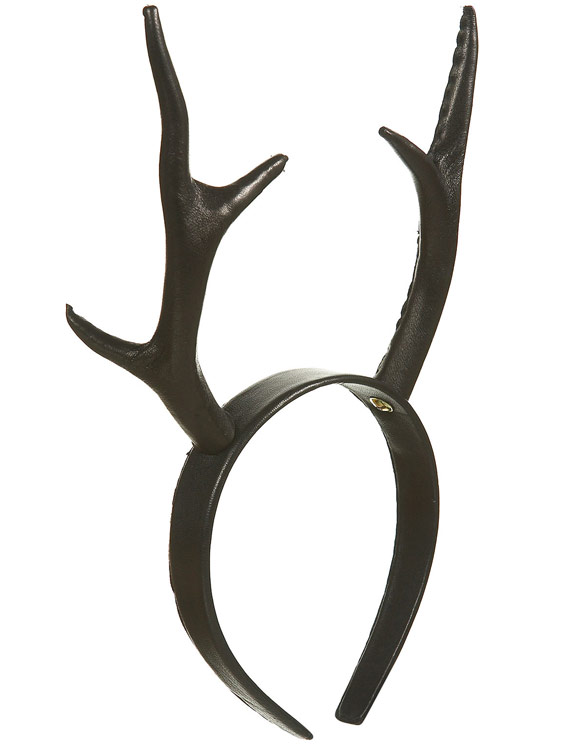 Topshop - Antler Headband By Unique - Cerchietto Corna Cervo