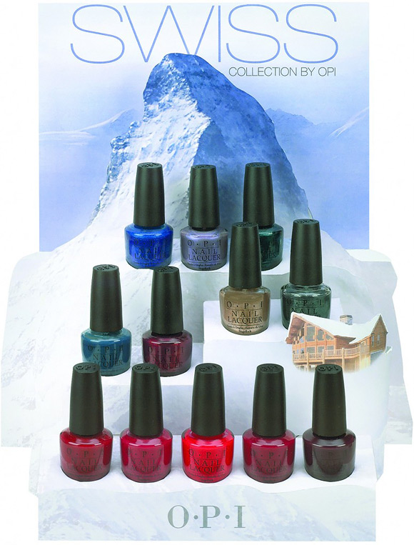 OPI - Swiss Collection, 2010