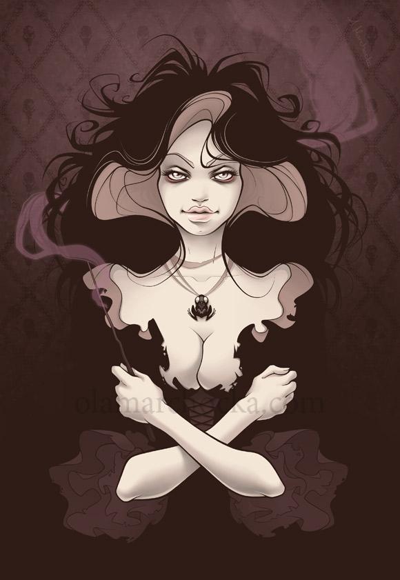 Aleksandra Marchocka - Bellatrix Lestrange