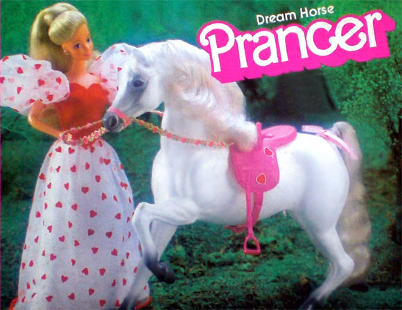 Barbie Dream Horse Prancer / Cavalla Principessa, 1985